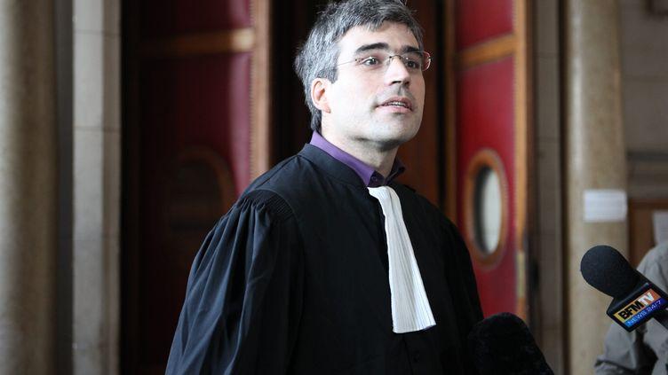 L'avocat Joseph Breham au Palais de Justice de Paris le 31 octobre 2010 (JB LE QUERE / MAXPPP / MAXPPP)