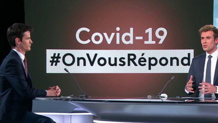 Coronavirus: France 2 répond à vos questions (FRANCE 2)