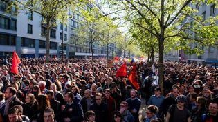 Le 1er mai 2016, à Paris. (CYRIL ABAD / HANS LUCAS)