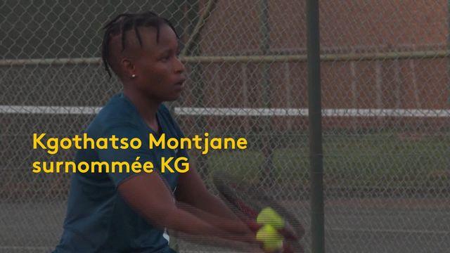 Tennis en fauteuil: Kgothatso Montjane en route vers les Jeux Paralympiques