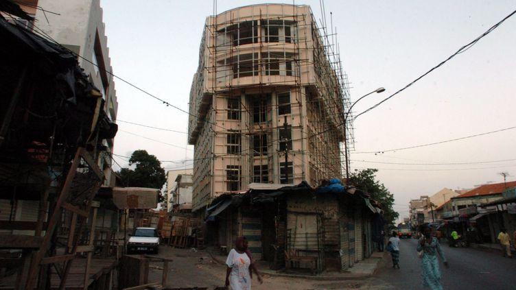 (La centre-ville de Dakar, capitale du Sénégal. © MaxPPP)