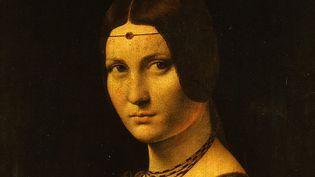 """""""La Belle Ferronnière"""" de Léonard de Vinci (détail)  (The Art Archive / Musée du Louvre - Paris / AFP)"""