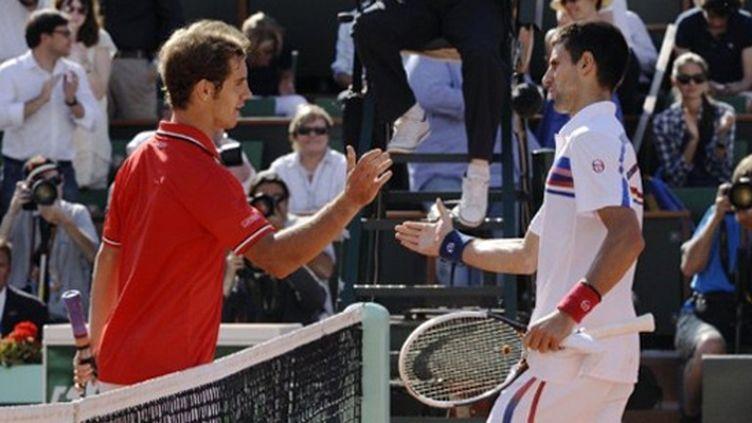 Richard Gasquet n'a jamais été en mesure d'inquiéter Novak Djokovic