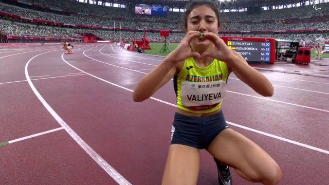 La Française termine quatrième de la finale du 400m T13, malgré son meilleur temps de la saison en 57.17 ! La finale est remportée par l'Azerbaïdjanaise Lamiya Valiyeva avec un record paralympique à la clé.