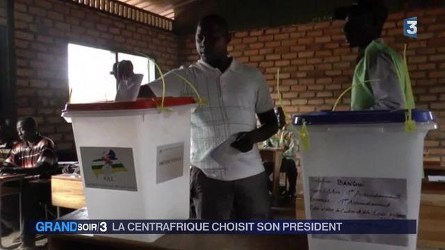 La Centrafrique élit son président