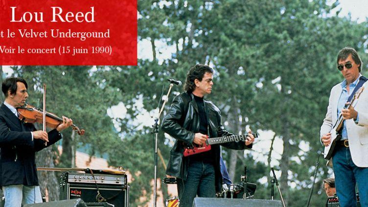 Le Velvet Underground reformé pour un concert unique à la Fondation Cartier le 15 juin 1990  (Fondation Cartier)