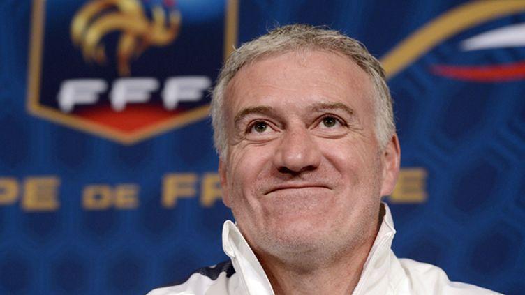 Le sélectionneur de l'équipe de France Didier Deschamps