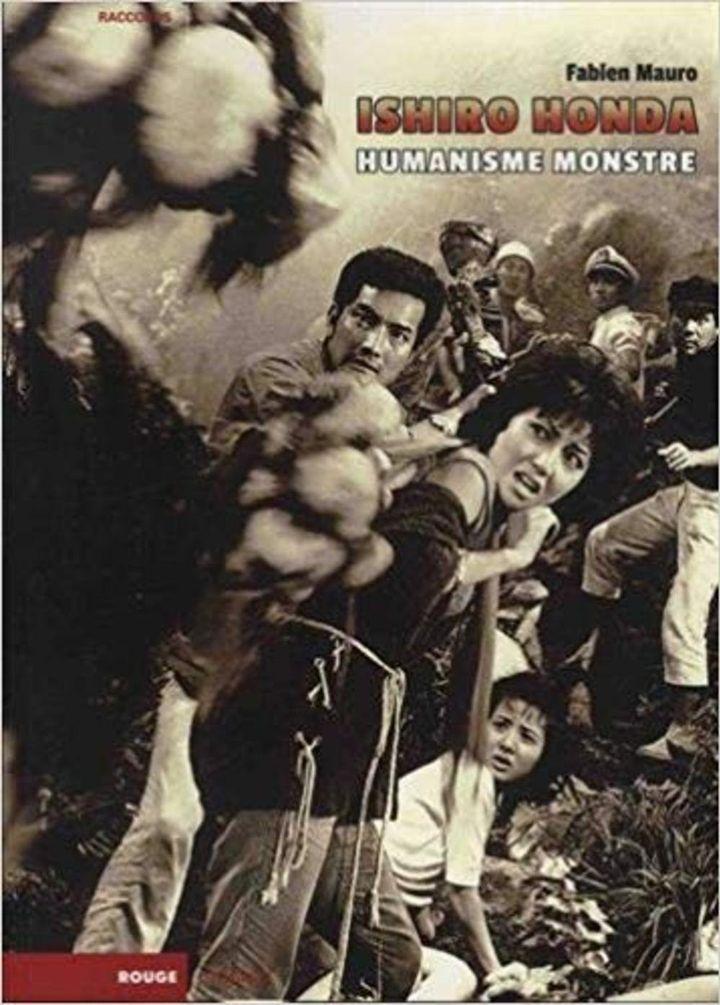 """""""Ishiro Honda - Humanisme monstre"""" : première de couverture  (Rouge Profond)"""