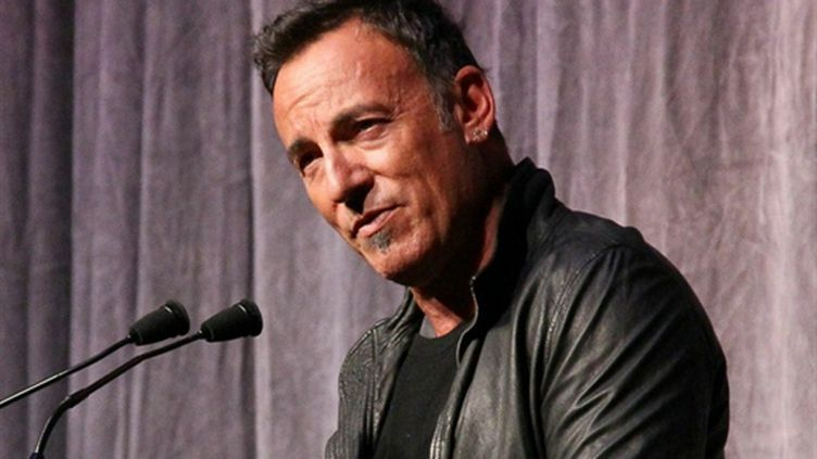 """Bruce Springsteen (ici en septembre 2010) aurait souhaité qu'Obama """"aille plus loin"""". (AFp - Getty Images)"""