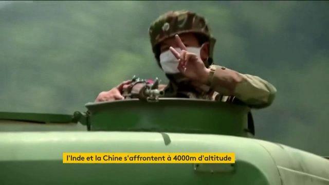 Combats meurtriers entre la Chine et l'Inde dans l'Himalaya