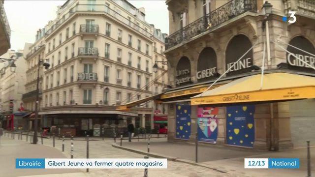 Librairie : Gibert Jeune, la fin d'une institution dans le quartier latin à Paris