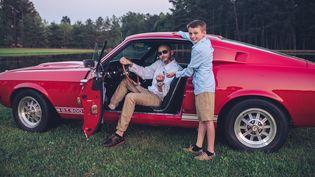 Ray Burrow imagine le jour où son fils Nathan, âgé de 9 ans, aurale droit de conduire une voiture. (SOUTHERN FRIED PHOTOGRAPHY / FACEBOOK)
