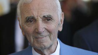 Charles Aznavour en juin 2015, à Cannes.  (Lionel Cironneau/AP/SIPA)
