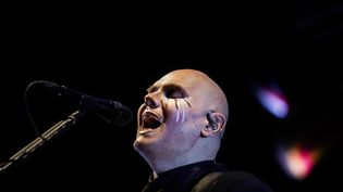Billy Corgan, depuis trois décennies le leader tout puissant des Smashing Pumpkins. (MARIO CRUZ / LUSA)
