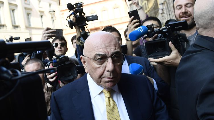 Le président de l'AC Milan, Andrea Galliani (MIGUEL MEDINA / AFP)