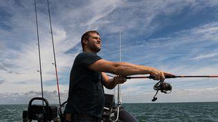 Christopher Coutanceau, pêcheur en mer et chef 3 étoiles à La Rochelle. (COUTANCEAU / OLIVIER ROUX)