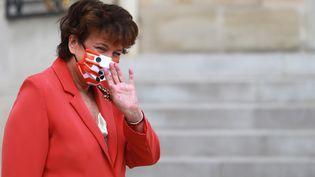 La ministre de la Culture, Roselyne Bachelot, à l'Elysée, à Paris, le 26 août 2020. (LUDOVIC MARIN / AFP)