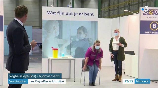 Vaccination contre le coronavirus : les Pays-Bas sont à la traîne