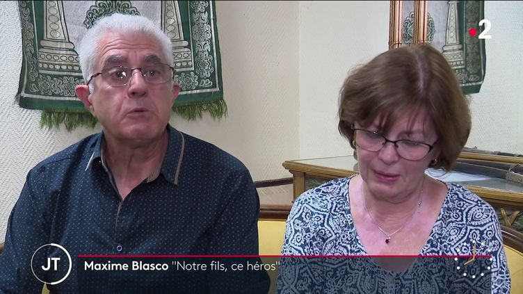 Les parents de Maxime Blasco (France 2)