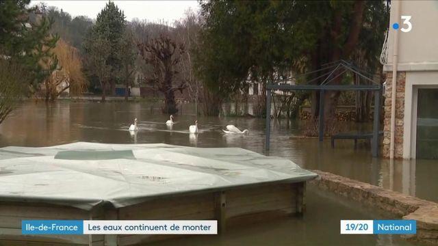 Intempéries : les eaux montent en Île-de-France