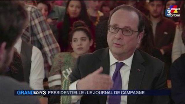Journal de campagne : François Hollande sort de son silence