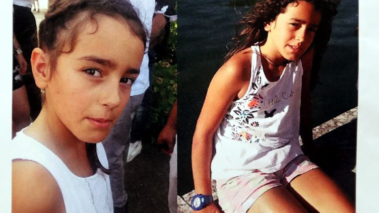 Photos non datées de Maëlys, disparue dans la nuit du 26 au 27 août 2017 à Pont-de-Beauvoisin (Isère). (MAXPPP)