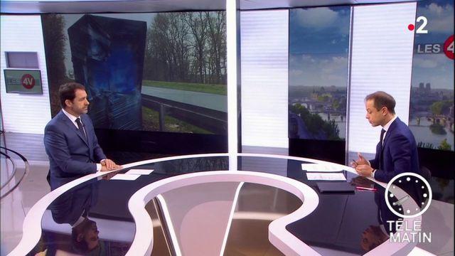 """Christophe Castaner :   """"75% du parc des radars a été soit détruit soit détérioré"""""""