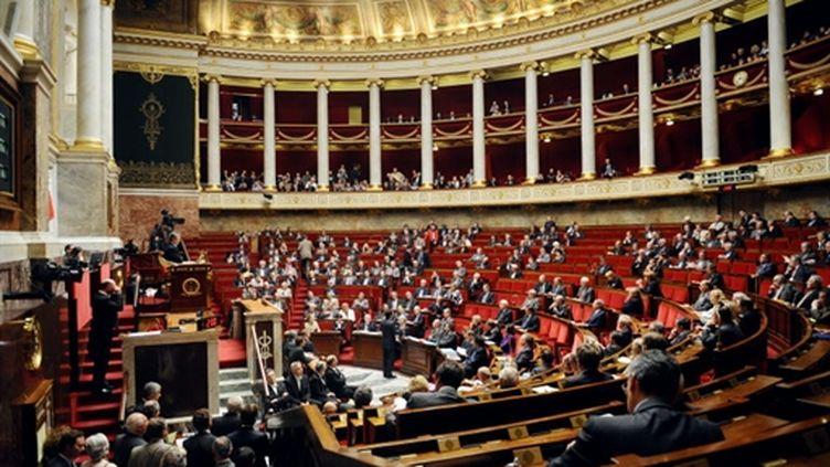 L'Assemblée nationale, lors de la session des questions au gouvernement, le 1er juin 2010. (AFP - Fred Dufour)