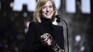 Lea Drucker, le 22 février 2019, lors de la 44e cérémonie des César à Paris. (BERTRAND GUAY / AFP)