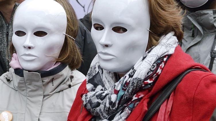 Marche pour la Culture le 10 février 2014  (ERIC FEFERBERG / AFP)