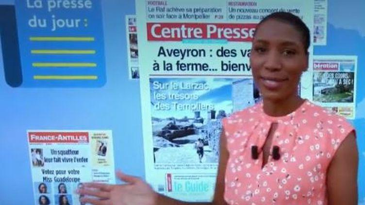 Comme chaque jour, France 2 revient sur les grands titres d'actualité en région. (FRANCE 2)