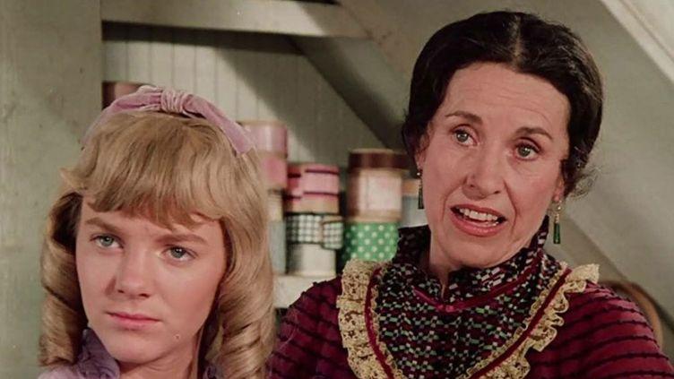 """Katherine MacGregor, alias Harriet Oleson dans """"La Petite maison dans la prairie"""".  (Droits réservés)"""