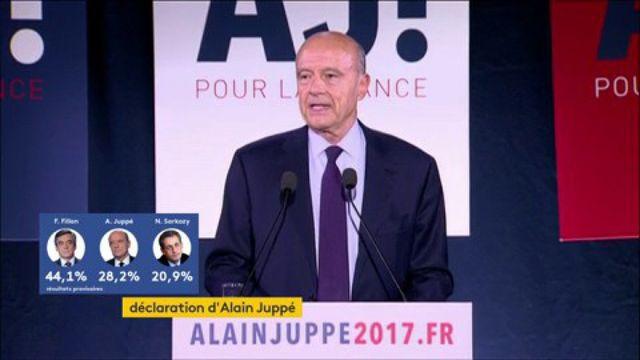 Regardez en intégralité la réaction d'Alain Juppé