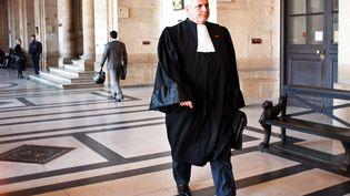 L'avocat Thierry Herzog arrive au palais de justice de Paris, le 10mars 2014. (THIBAULT CAMUS / AP / SIPA)