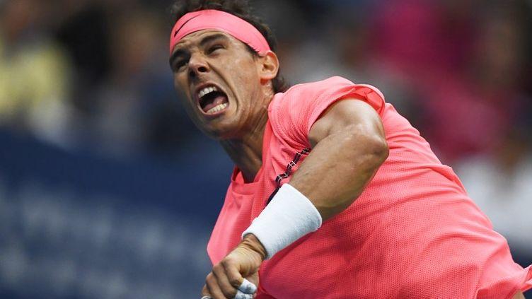 Rafael Nadal (JEWEL SAMAD / AFP)
