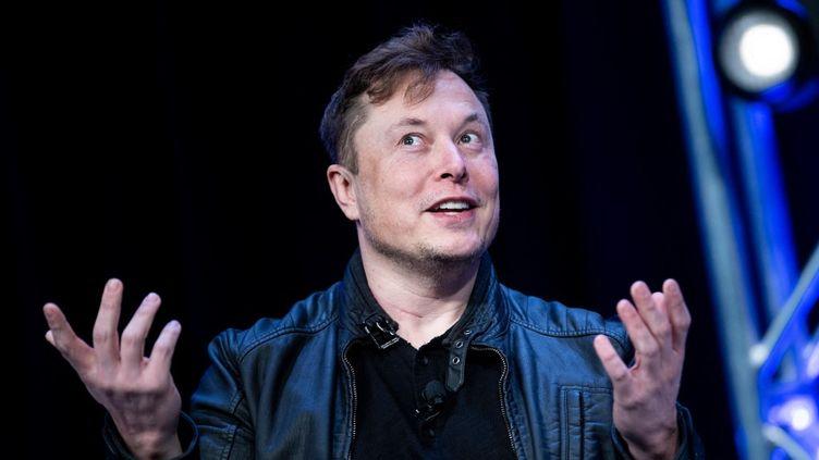 Le fondateur de Tesla, Elon Musk, le 9 mars 2020. (BRENDAN SMIALOWSKI / AFP)