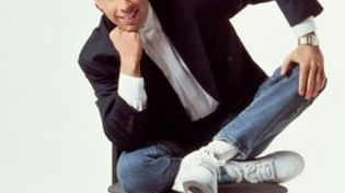 """L'acteur Jerry Seinfeld dans la série """"Seinfeld"""". (Sony Pictures Television International)"""