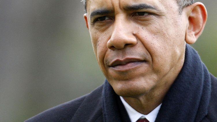 Barack Obama a écourté ses vacances à Hawaii pour rentrer à Washington, le 27 décembre 2012. (JONATHAN ERNST / REUTERS)