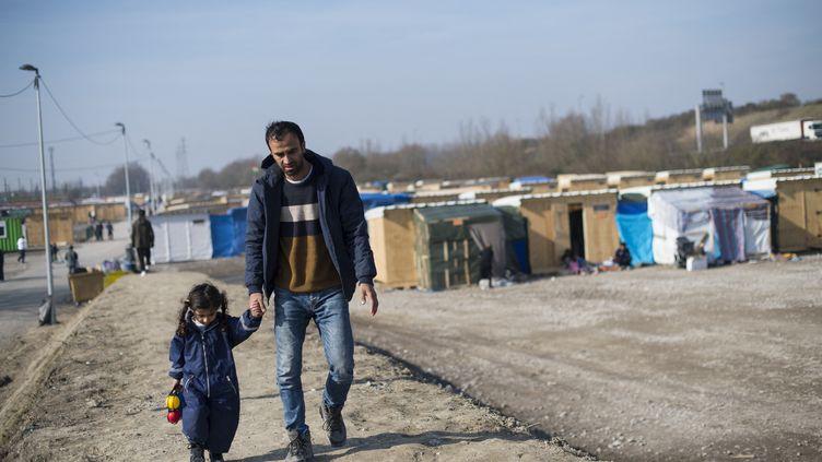 Camp de réfugiés kurdes à Grande-Synthe (Nord), le 15 mars 2016. (STEVEN WASSENAAR / HANS LUCAS)