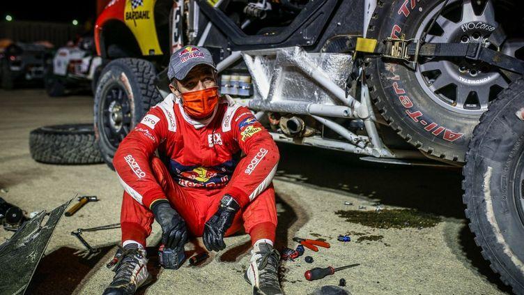 Sébastien Loeb a joué de malchance dans ce Dakar 2021 (JULIEN DELFOSSE / DPPI MEDIA)