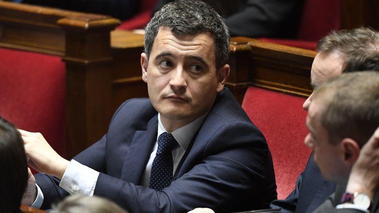 Le ministre français de l'Action publique et des Comptes, Gérald Darmanin, à l'Assemblée nationale à Paris, le 10 avril 2018. (BERTRAND GUAY / AFP)