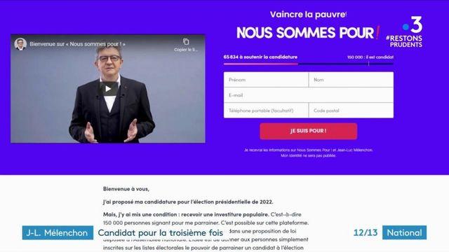 Politique : Jean-Luc Mélenchon sera candidat en 2022