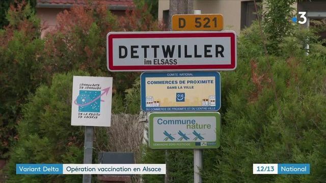 Covid-19 : un deuxième foyer du variant Delta identifié en Alsace