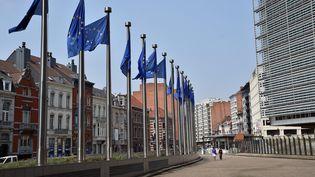 Le siège de la Commission européenne à Bruxelles. (BRUNO FAVA / MAXPPP)