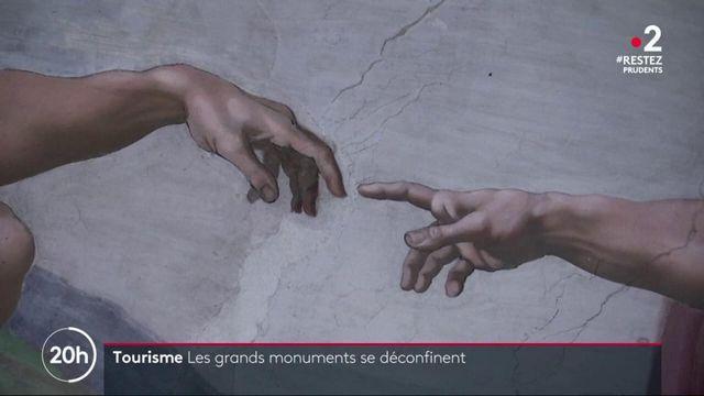 Déconfinement: l'Europe rouvre ses monuments