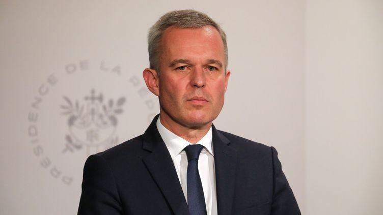 François de Rugy à l'Elysée, le 10 juillet 2019. (LUDOVIC MARIN / AFP)