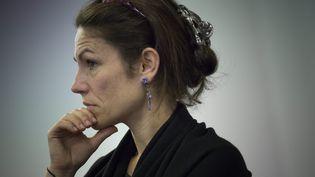 Chantal Jouanno au siège de l'UDI, à Paris, le 2 juillet 2014. ( MAXPPP)