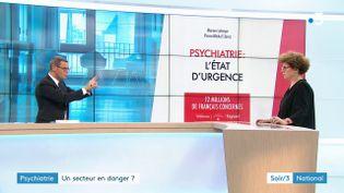 Marion Leboyer et son livre (France 3)