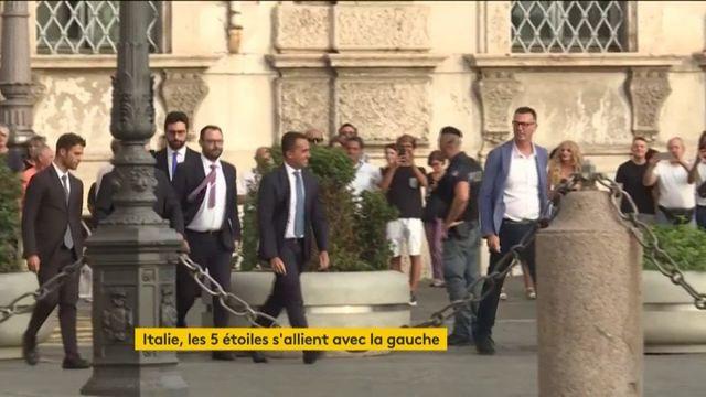 Italie : le mouvement 5Étoiles s'allie avec la gauche pour contrer Salvini