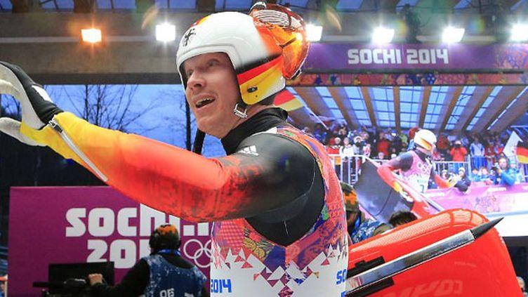 Le champion olympique Felix Loch